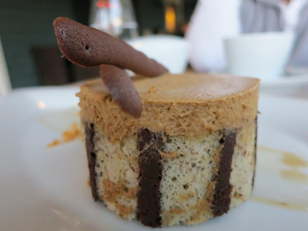 Chocolate Sponge with Coffee Mousse