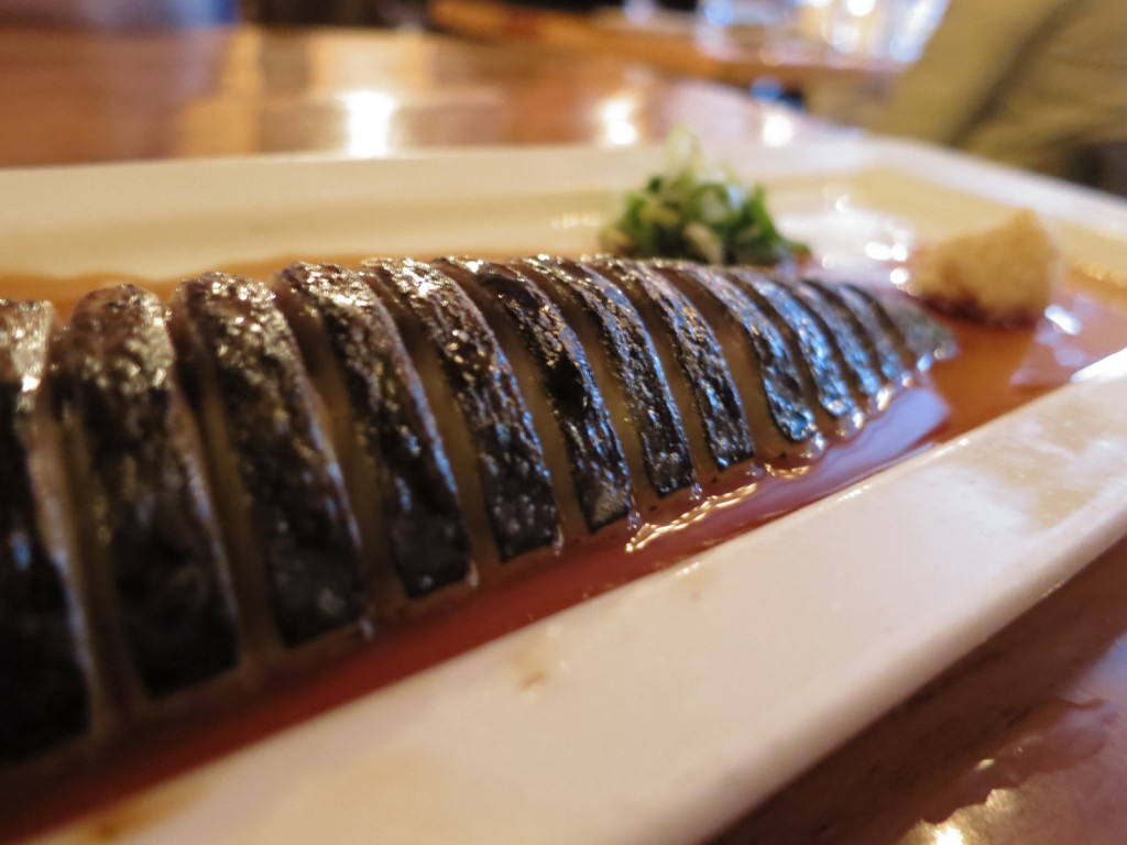 Mackerel with Ginger and Green Onion