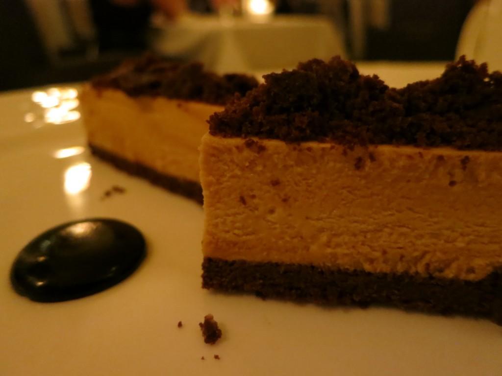 Summerlicious 2012 Ice Cream Sandwich caramel semifreddo, cocoa nib, chocolate cake