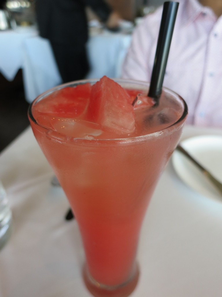 Strawberry, Watermelon, and Sparkling Lemonade