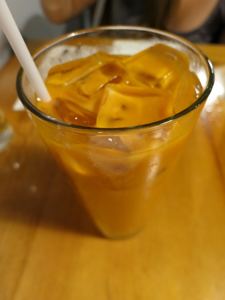 Cha nom Yen  Thai Iced Tea